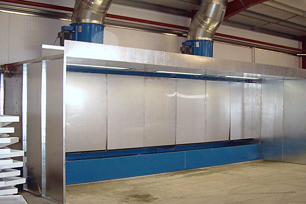 Water Wash Spray Booths